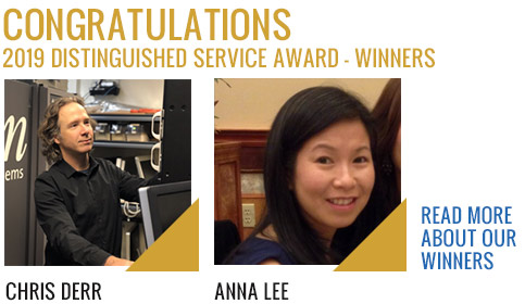 2019 Service Award Winners